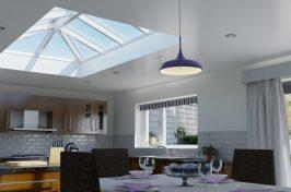 lantern rooflight home interior