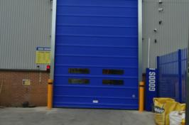 rapid fold door